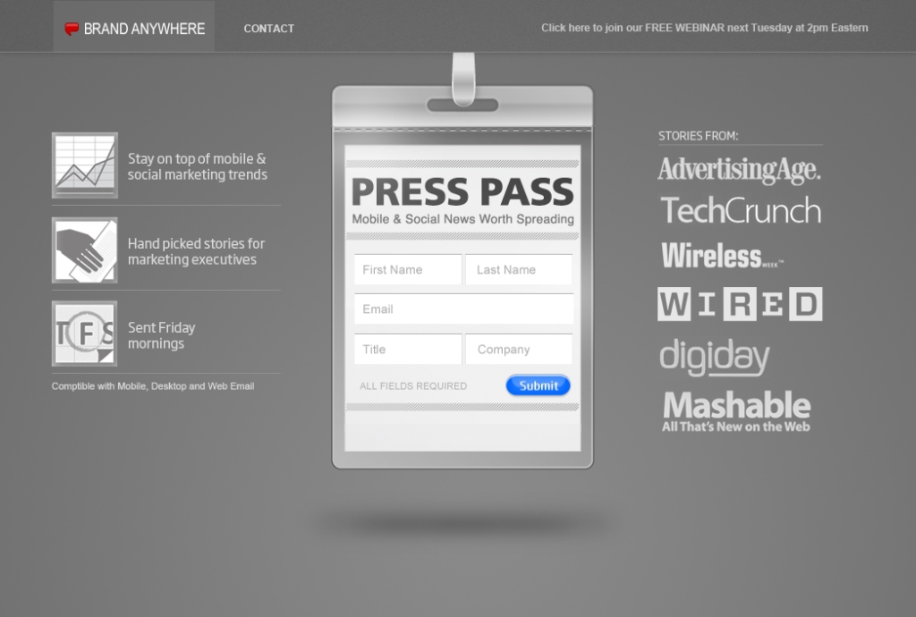 press-pass-design-screenshot